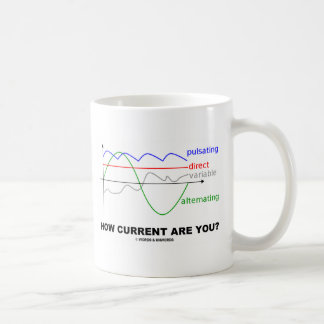 How Current Are You? (Various Currents Physics) Classic White Coffee Mug