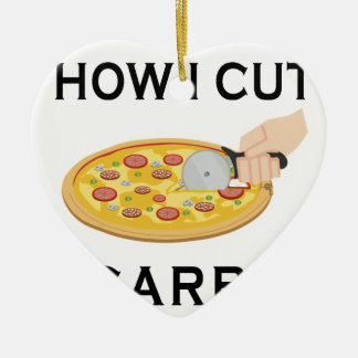 HOW CUT CARBS CERAMIC ORNAMENT