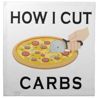HOW CUT CARBS NAPKIN