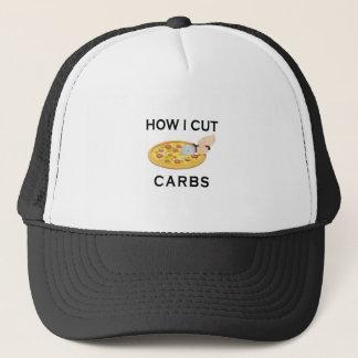 HOW CUT CARBS TRUCKER HAT