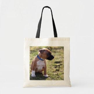 how cute am i tote bag