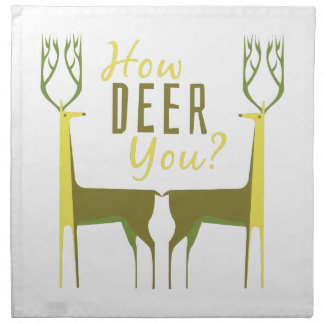 How Deer You? Cloth Napkin