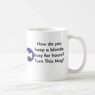 How do you keep a blonde busy for hours? coffee mug