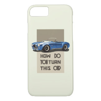How do you turn this on blue cobra car Case-Mate iPhone case