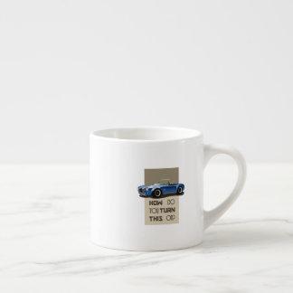 How do you turn this on blue cobra car espresso cup