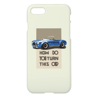 How do you turn this on blue cobra car iPhone 8/7 case