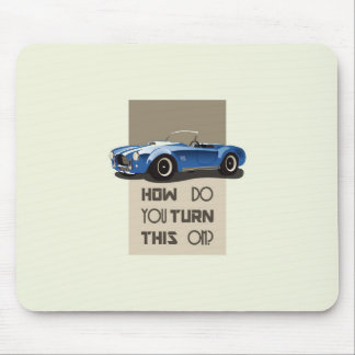 How do you turn this on blue cobra car mouse pad