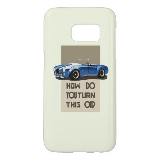 How do you turn this on blue cobra car samsung galaxy s7 case