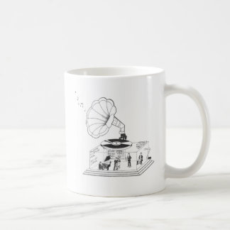 How does a Gramophone actually work? Coffee Mug