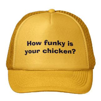 How funky is your chicken? trucker hat