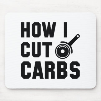 How I Cut Carbs Mouse Pad