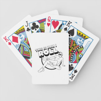 How I Roll Bicycle Playing Cards