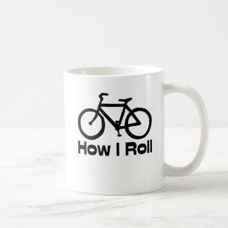 How I Roll Coffee Mug