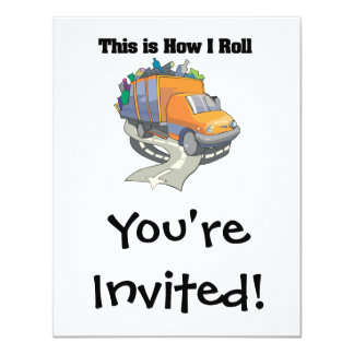 How I Roll (Garbage Truck) Card