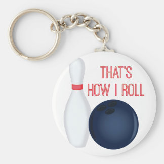 How I Roll Keychain