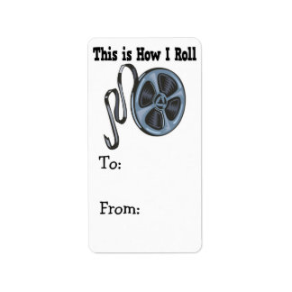 How I Roll Movie Film Tape