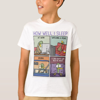 How I Sleep T-Shirt