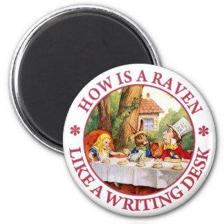 How Is A Raven Like A Writing Desk? Magnet