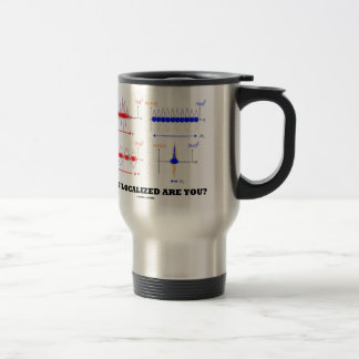 How Localized Are You? (Wave Packet Localization) Stainless Steel Travel Mug