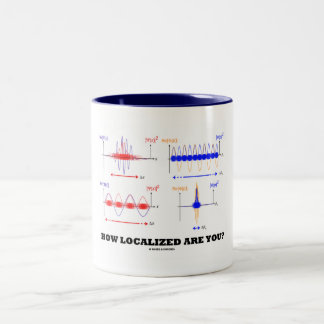 How Localized Are You? (Wave Packet Localization) Coffee Mug