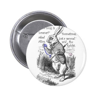 How long is forever? 2 inch round button