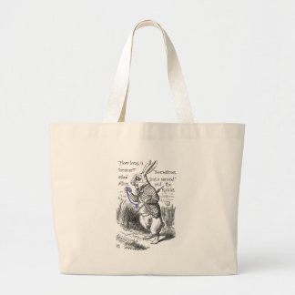 How long is forever? large tote bag