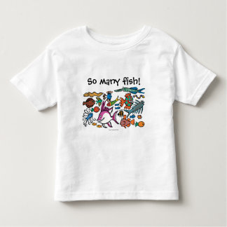How Many Different Fish Can You See? Toddler T-shirt