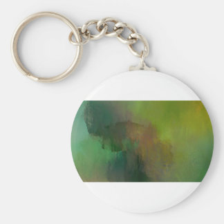 How many leaves basic round button keychain