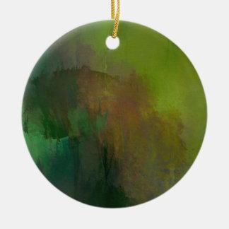 How many leaves ceramic ornament