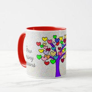 How many spoons of love Cute Love Tree Mug