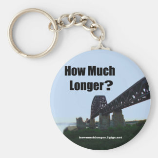 """How Much Longer?"" Keychain - 2"