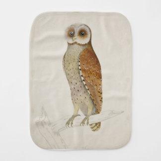 How now Bay Owl? Burp Cloth
