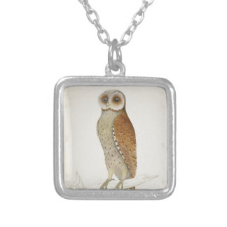 How now Bay Owl? Silver Plated Necklace