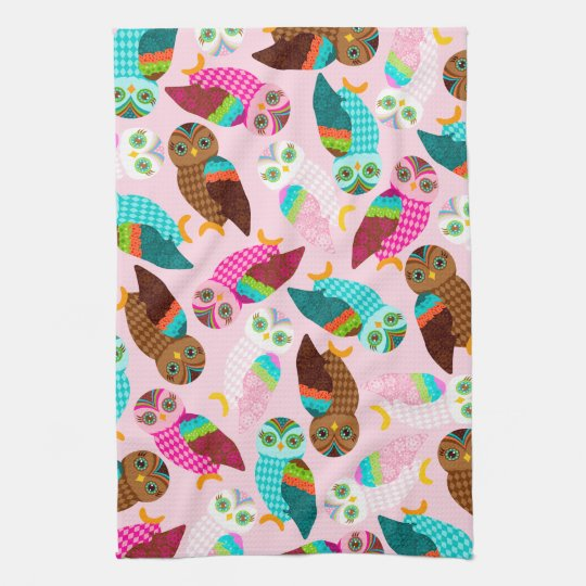 How Now Little Owls? Towels