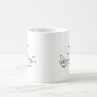 """How Planes Fly"" Coffee Mug"