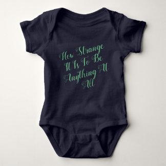 How Strange It Is Baby Bodysuit