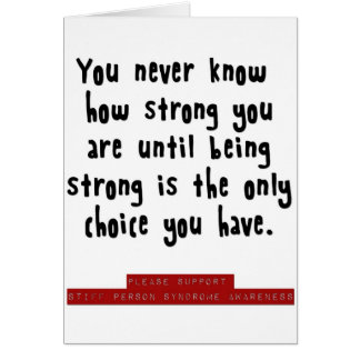 how strong you are card