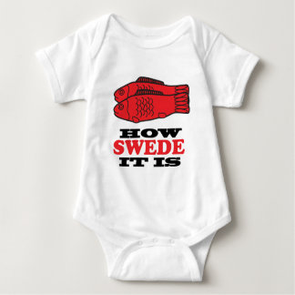 How Swede It Is Baby Bodysuit