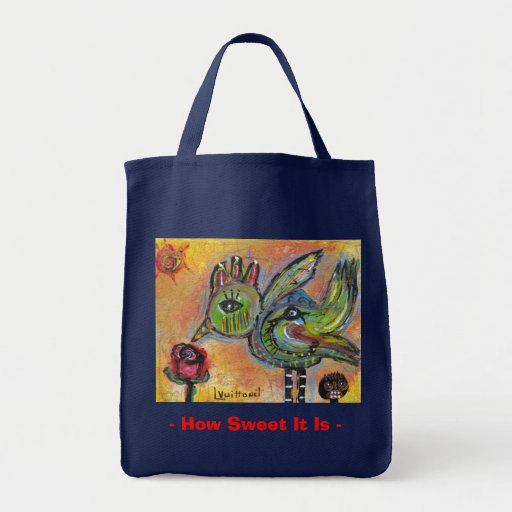 How Sweet It Is #3 Canvas Bag