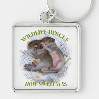 How Sweet Tiny Infants - Wildlife Rescue Keychain