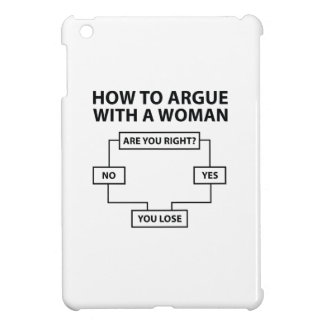 How To Argue With A Woman Case For The iPad Mini