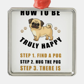 how to be truly happy step  find metal ornament