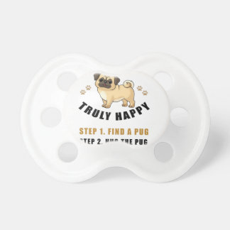 how to be truly happy step  find pacifier