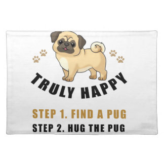 how to be truly happy step  find placemat