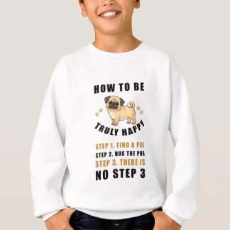how to be truly happy step  find sweatshirt