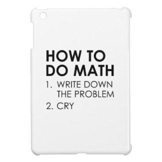 How To Do Math iPad Mini Cover