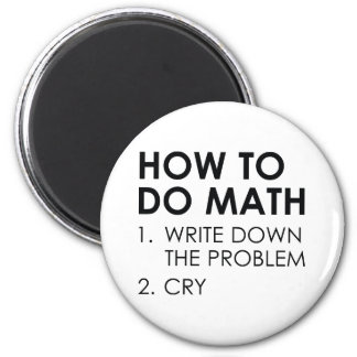 How To Do Math Magnet