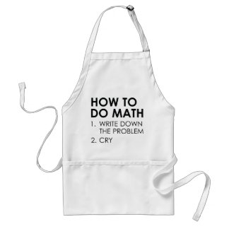 How To Do Math Standard Apron