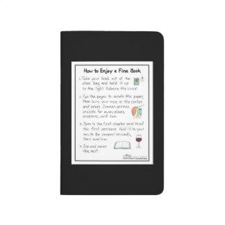 How to Enjoy a Fine Book Pocket Journal