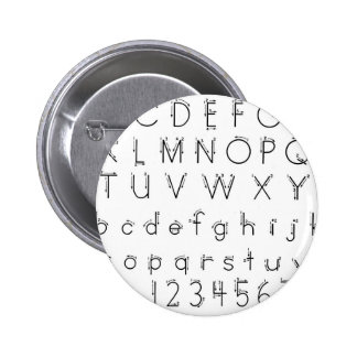 How to form your letters - Alphabet handwriting 2 Inch Round Button